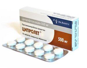 Антибіотик ципролет: ефективний засіб лікування