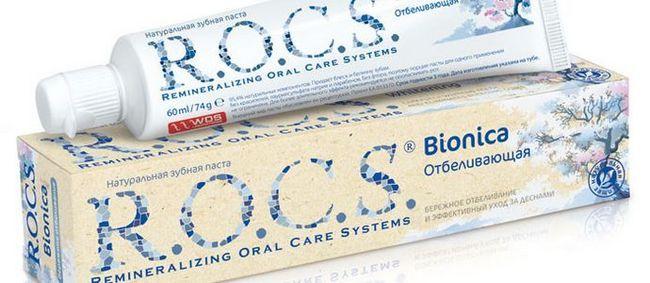 Відгуки, вартість і склад зубної пасти r.o.c.s