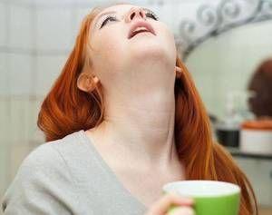 Полоскання горла і ротової порожнини хлоргексидином