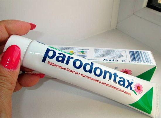Властивості зубної пасти парадонтакс та відгуки про її застосуванні
