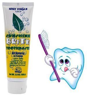 Зубні пасти без фтору - список