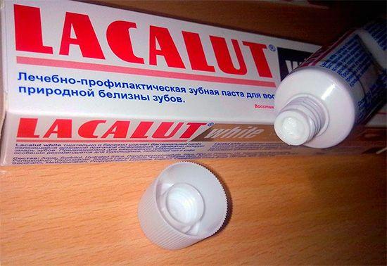 Зубні пасти лакалут та відгуки про їх застосування